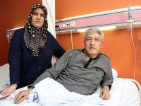 Aort damarı yırtılan hasta sağlıkçıların zamana karşı yarışıyla kurtuldu
