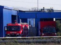 İlaç fabrikasında yangın