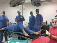 Bir günde 5 ameliyat yaptı, gece kendisi ameliyat oldu, ertesi gün işe başladı