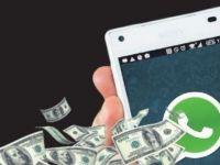 WhatsApp'tan emoji gibi para gönderilecek