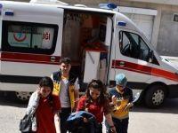 Aksaray'da 11 öğrenci yedikleri dönerden zehirlendi