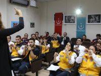 Mudanya'da Hastane Personeline İşaret Dili Kursu