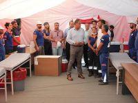 Türkiye'ye dönen sığınmacıların çocukları aşılanıyor