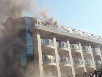 Antalya'da lüks otelde yangın! 400 kişi tahliye edildi