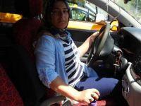 Çorum'un ilk ve tek kadın taksi şoförü