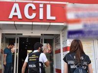 Tıp merkezine uyuşturucu baskını: 9 gözaltı
