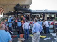 Ankara'da korkunç kaza! Yolcu otobüsü köprüye çarptı: 5 ölü, çok sayıda yaralı var