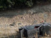 Okul yolunda kaza: Anne ile oğlu öldü