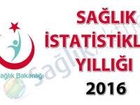 Sağlık İstatistikleri Yıllığı 2016 - (20.12.2017)