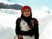 Türkiye'nin 'Heidi'si veteriner hekim olmak istiyor