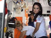 Olay yerinde kalbi çalıştırılan yaralı sürücü hastanede öldü
