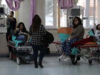 Konya'da 29 öğrenci hastanelere kaldırıldı