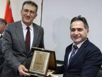 Erzurum İl Sağlık Müdürü 10 yıldır sürdürdüğü görevini Dr. Uçar'a devretti