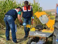 Tohum makinesine atkısını kaptıran çiftçi öldü