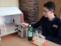 Lise öğrencisi zehirli gazı temizleyen cihaz geliştirdi