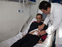 Kist nedeniyle 2,5 kilogram olan böbrek ameliyatla alındı