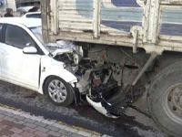 Sürücü kursu müdürü, kazada hayatını kaybetti