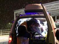 Paletli ambulans Umut bebeğe 3 saatte hastaneye ulaştı