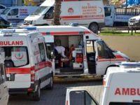 Hasta yakınlarından ambulans şoförüne yumruklu saldırı