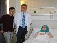 Doktorun dikkati anne ve bebeğini kurtardı