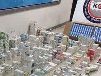 İstanbul merkezli kaçak ilaç çetesi çökertildi
