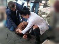 Müdahale ettiği hasta tarafından tekmelenen hemşirenin zor anları