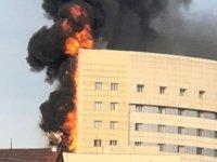 Hastanede yangının çıkış sebebi 'su ısıtıcısı'
