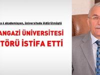 Flaş! Osmangazi Üniversitesi Rektörü istifa etti