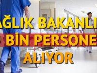 9 bin sağlık personeli alımı başvurusu için son günler! Alımlar hangi pozisyona yapılacak?