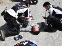 Hayat kurtaran motorize doktorlar, görev başında