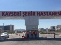 Kayseri Şehir Hastanesi açılışına geri sayım başladı