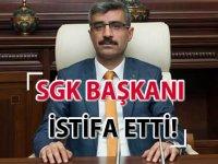 Son Dakika: SGK Başkanı Selim Bağlı istifa etti