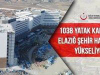 1038 yataklı Elazığ Şehir Hastanesi sonbaharda hizmete girecek!