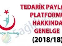 Tedarik Paylaşım Platformu hakkında Genelge (2018/18)