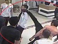 Özel hastanede doktora saldırı / Video