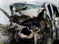 Eskişehir'de feci kaza! 5 ölü, 2 yaralı