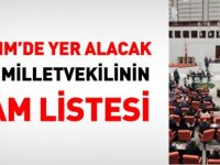 TBMM'de yer alacak 600 milletvekili'nin il il tam listesi