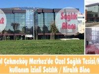 İstanbul Çekmeköy'de sağlık alanı izinli satılık/kiralık bina