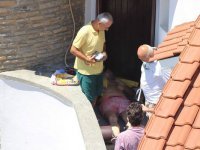 Bodrum'da feci ölüm! Hırsızlar için yaptırmıştı sonu oldu
