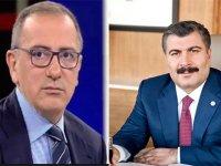 Sağlık Bakanı Fatih Altaylı'yı aradı, şiddetle ilgili önlemleri ve yapacaklarını aktardı!