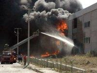 Son dakika: Antalya OSB'de yangın! Olay yerine çok sayıda itfaiye ekibi sevk edildi