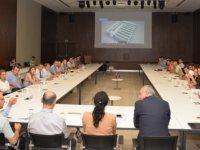 Bilkent Şehir Hastanesi medikal, biyomedikal ve ayniyat taşınır depolama alanları toplantısı yapıldı