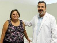 Diyabet hastası kadın insülin ve fazla kilolardan tüp mide ameliyatı ile kurtuldu