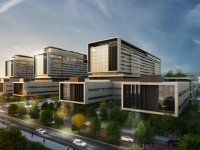 Mega kent İstanbul'a bir milyon m2 alanda kurulan mega şehir hastanesi