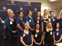 Aynı hastanede 16 hemşire birden hamile: Hepimiz sözleşmiş gibi tatile denk getirdik!