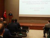 Sağlık Bakanlığı'nda sözleşmeli yönetici performans değerlendirme toplantısı yapıldı