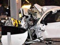 Başkentte 4 kişilik aile kazada hayatını kaybetti