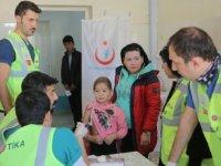 Türk doktorlar Özbekistan'da bölge halkına ücretsiz hizmet verecek