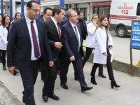 Sağlık Bakanı Yardımcısı Eldemir Ordu'da sağlık yatırımlarını inceledi
