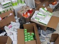 Gaziantep'te 448 bin 987 adet kaçak ilaç ele geçirildi